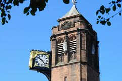 Coventry Council House Clock Tower. Royalty Free Stock Images