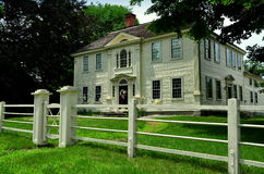 Coventry, CT : Prudence Crandall House Museum Image stock