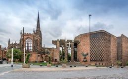 Coventry katedra zdjęcie stock