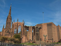 Coventry-Kathedrale Lizenzfreie Stockbilder