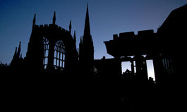 Coventry-Kathedrale Lizenzfreies Stockbild
