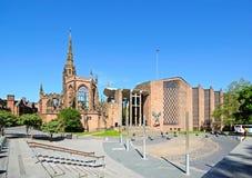 Coventry-Kathedralen stockfotografie
