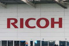 COVENTRY, REGNO UNITO - 5 maggio 2018 - vista dello stadio dell'arena di Ricoh, Coventry, West Midlands, Inghilterra, Regno Unito fotografie stock libere da diritti