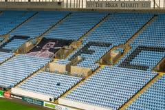 COVENTRY, REINO UNIDO - 5 de mayo de 2018 - vista del estadio de la arena de Ricoh, Coventry, West Midlands, Inglaterra, Reino Un Fotos de archivo libres de regalías