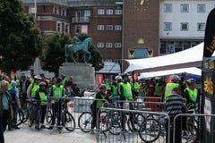 Coventry, Reino Unido, el 17 de septiembre de 2017, festival anual del montar a caballo de Coventry Imagen de archivo libre de regalías