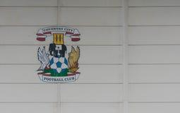 COVENTRY, ROYAUME-UNI - 5 mai 2018 - vue du stade d'arène de Ricoh, Coventry, Midlands de l'Ouest, Angleterre, R-U images libres de droits