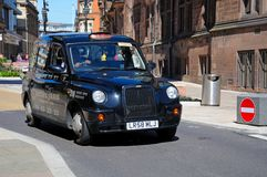 Coventry Taxi Cab. Royalty Free Stock Photography