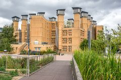 Coventry University Lanchester Library royalty free stock photography