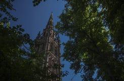 Coventry, Warwickshire, het UK, 27 Juni 2019, Kathedraalkerk van Heilige Michael royalty-vrije stock afbeeldingen
