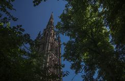 Coventry, Warwickshire, UK, June 27th 2019, Cathedral Church of Saint Michael royalty free stock images