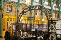 Coventtuin Londen Stock Foto's