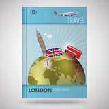 Cover abstract London Royalty Free Stock Images