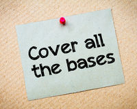 Cover all the bases Stock Images