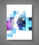 Cover Annual Flyer Poster Royalty Free Stock Photo