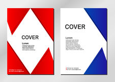 Cover background. Cover background in modern style. Vector design Stock Photos