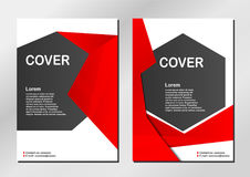 Cover background. Cover background in modern style. Vector design Royalty Free Stock Image