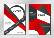 Cover background. Cover background in modern style. Vector design Stock Image