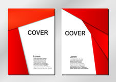 Cover background. Cover background in modern style. Vector design Royalty Free Stock Photos