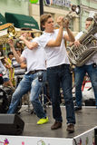 Cover band Brevis Brass Band Stock Photography