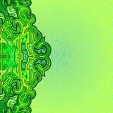 Cover Batik Green Abstract from Yogyakarta Stock Images