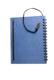 Cover blue notebook. Stock Photography