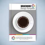 Cover Book Digital Design Minimal Style Template Stock Image
