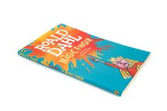 The book The Magic Finger by Roald Dahl and Illustrated by Quentin Blake