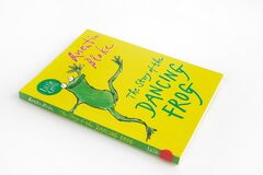 The book, The Story of the Dancing Frog by Quetin Blake