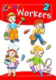 Cover - color workers 2 Royalty Free Stock Photo