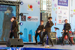 Cover Dance Performance by Divinity Party cover 2PM in Japan Festa in Bangkok 2013. Stock Image
