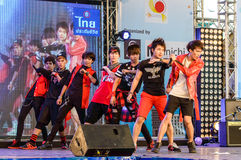 Cover Dance Performance by Magical cover Afilia Saga in Japan Festa in Bangkok 2013. Stock Image