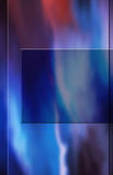 Cover Design 3. Design. An abastract background with a blue  square in the middle. Ready for your title or information Royalty Free Stock Photo