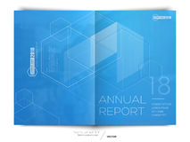 Cover design annual report, flyer, brochure. Royalty Free Stock Photo