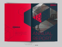 Cover design annual report, flyer, brochure. Stock Photos