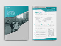 Cover design annual report,vector template brochures Royalty Free Stock Image