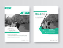 Cover design annual report,vector template brochures Royalty Free Stock Photography