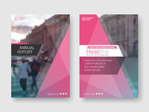 Cover design annual report,vector template brochures Royalty Free Stock Photos