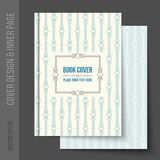 Cover design for business brochure, annual report Royalty Free Stock Photos