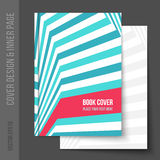 Cover design for business brochure, annual report Royalty Free Stock Photo