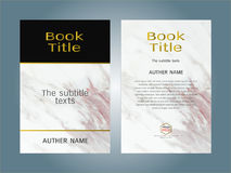 Cover design layout template, Inspiration for your design Royalty Free Stock Photos