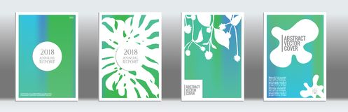 Modern cover template. Cover design template. Notebook creative layout. Backdrop for corporate annual report, poster, magazine first page. Minimal leaflet Stock Photos