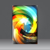 Cover design template. Use any size Stock Photography