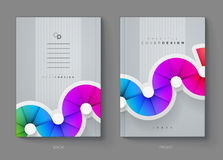 Cover Design Template Royalty Free Stock Images