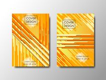 Cover design vector background, editable document Stock Photography