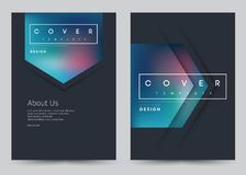 Cover Design Vector template set Brochure, Annual Report, Magazine, Poster, Corporate Presentation, Portfolio, Flyer, Banner. Cover Design Vector template set vector illustration