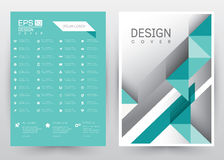 Cover Design Vector template set Brochure, Annual Report, Magazine, Poster, Corporate Presentation, Portfolio, Flyer, Banner, Webs. Cover Design Vector template Stock Images
