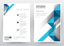 Cover Design Vector template set Brochure, Annual Report, Magazine, Poster, Corporate Presentation, Portfolio, Flyer, Banner, Webs. Cover Design Vector template Stock Photos
