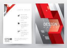 Cover Design Vector template set Brochure, Annual Report, Magazine, Poster, Corporate Presentation, Portfolio, Flyer, Banner, Webs. Cover Design Vector template Royalty Free Stock Image
