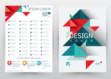 Cover Design Vector template set Brochure, Annual Report, Magazine, Poster, Corporate Presentation, Portfolio, Flyer, Banner, Webs. Cover Design Vector template Royalty Free Stock Images