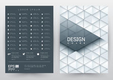 Cover Design Vector template set Brochure, Annual Report, Magazine, Poster, Corporate Presentation, Portfolio, Flyer, Banner, Webs. Cover Design Vector template Stock Photo